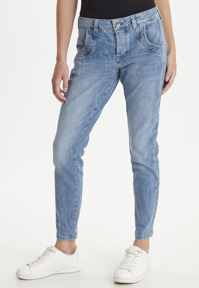 PZMELINA  - Slim fit jeans - light blue denim