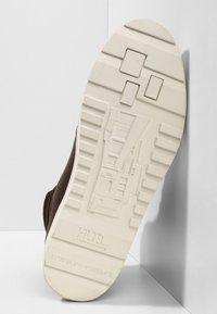 HUB - DUBLIN MERLINS - Sneakers high - dark brown/off white - 4