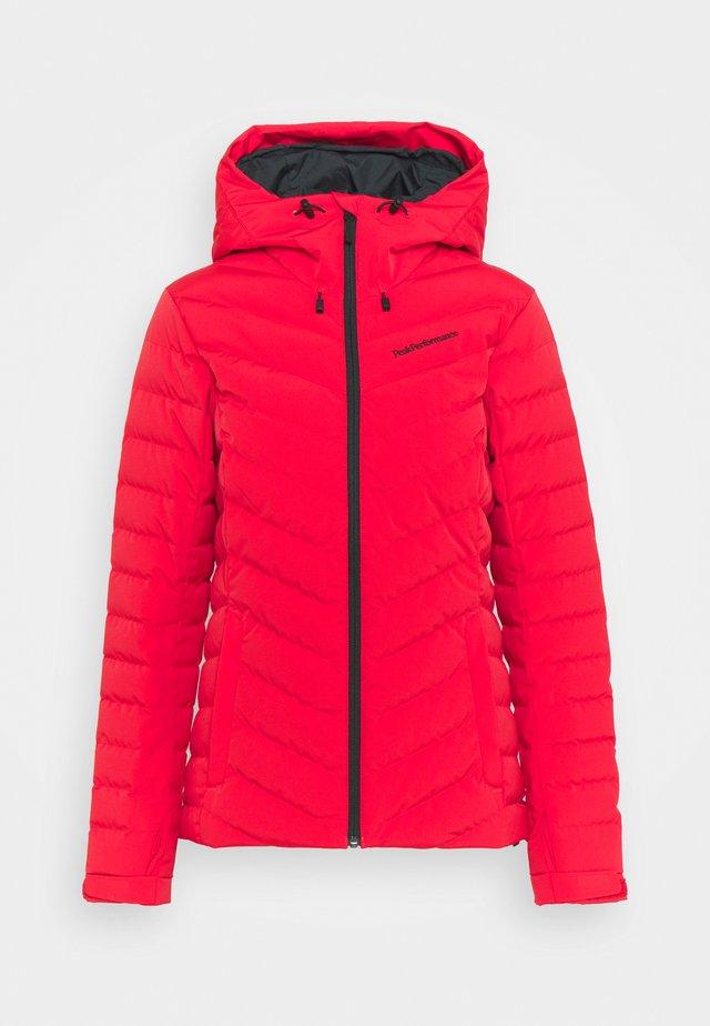 FROST JACKET - Lyžařská bunda - polar red