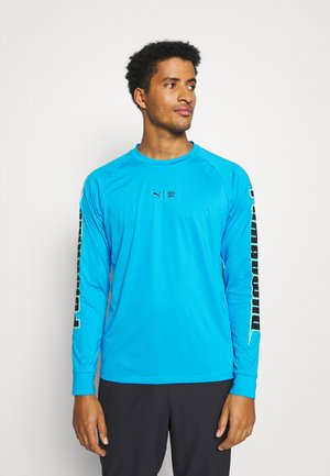 TRAIN FIRST MILE XTREME LONG SLEEVE TEE - T-shirt de sport - blue