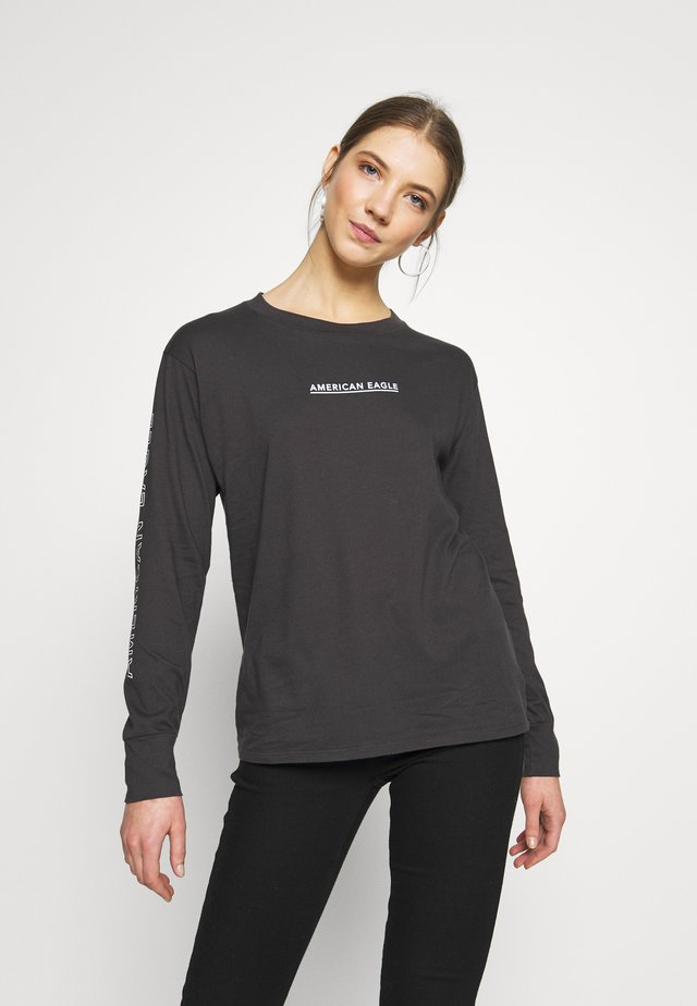 BRANDED URBAN TEE - Long sleeved top - anthrazit