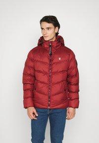 G-Star - WHISTLER PUFFER - Winter jacket - dry red - 1