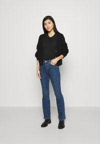 Marks & Spencer London - EVA - Bootcut jeans - blue denim - 1
