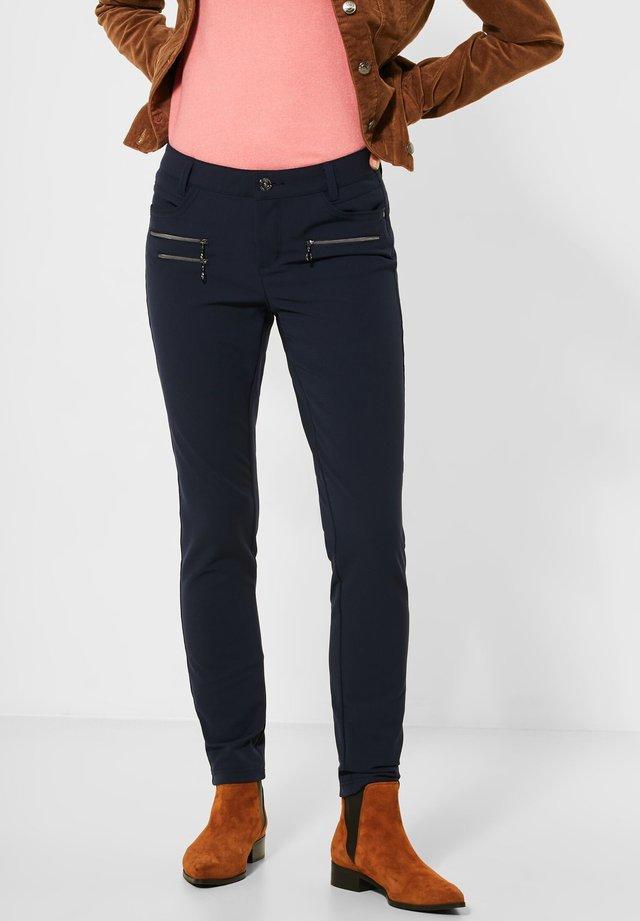 SLIM FIT  - Trousers - blau