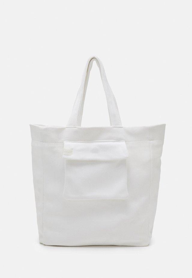 TOTE - Shopping bag - white