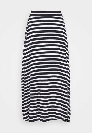 SKATER SKI - A-line skirt - black
