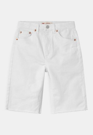 HIGH LOOSE  - Shorts di jeans - white