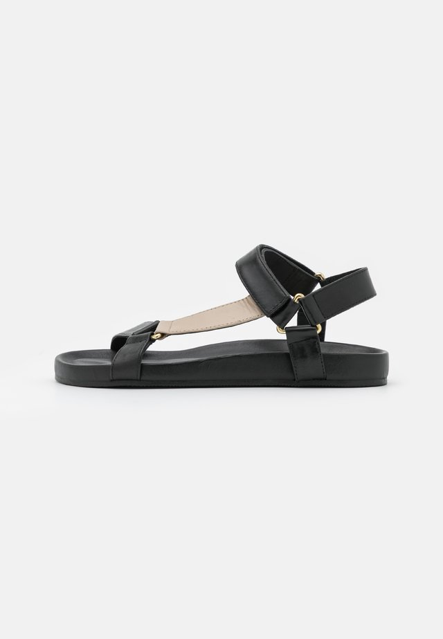 PEACE - Sandals - black/multicolor