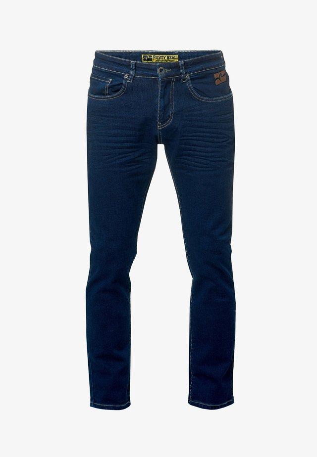 LINDON - Straight leg jeans - marine