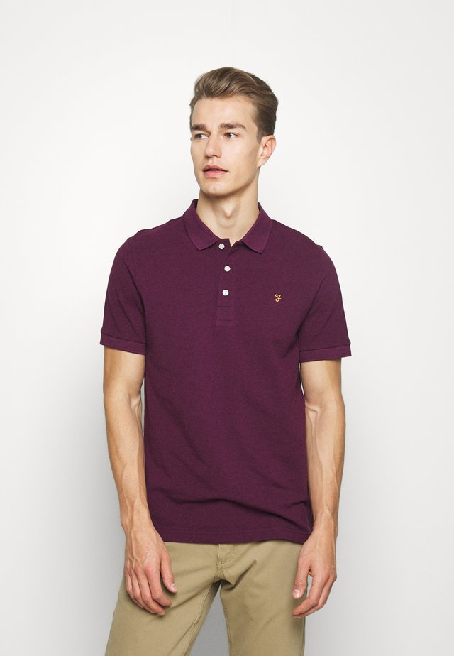 BLANES  - Polo - hippie purple marl