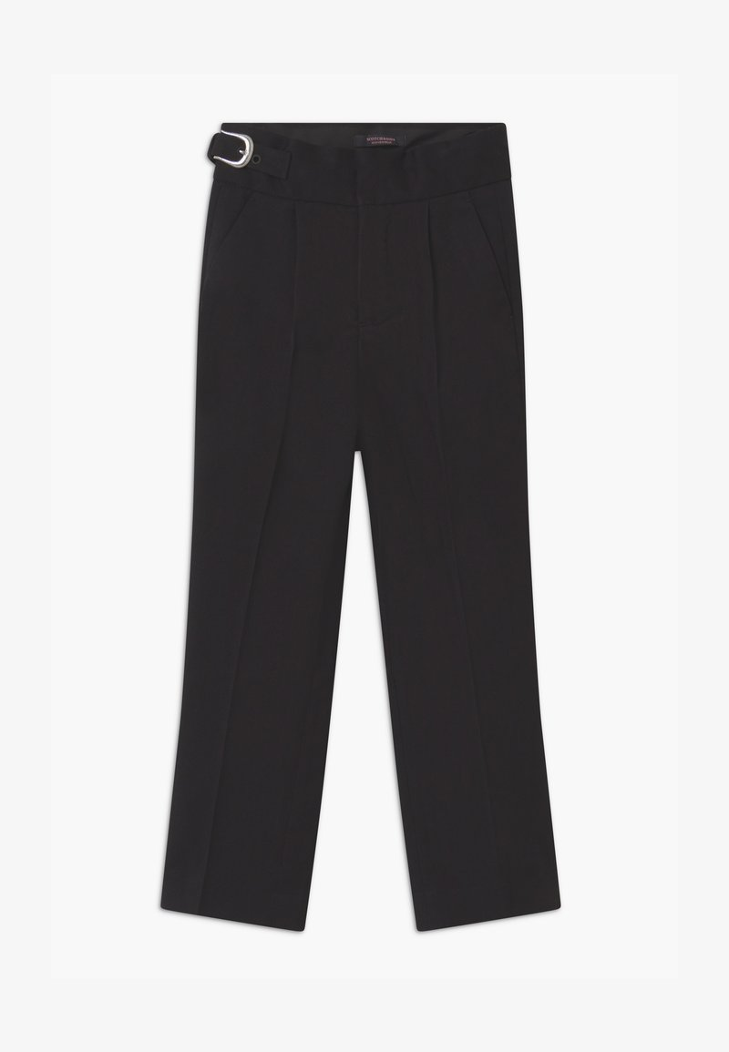 Scotch & Soda - WESTERN BUCKLE DETAIL - Trousers - black