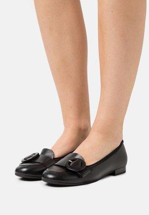 Slipper - schwarz