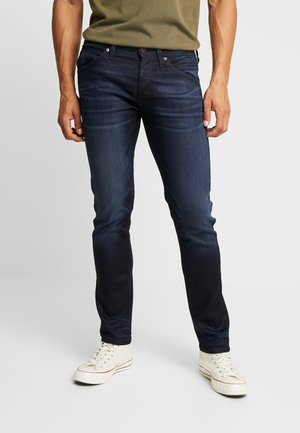 JJIGLENN JJFOX  - Džíny Slim Fit - blue denim