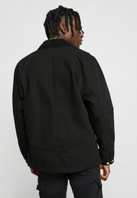 Carhartt WIP - MICHIGAN COAT DEARBORN - Kurtka wiosenna - black rinsed - 2