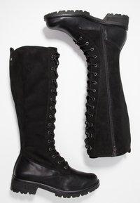 Tamaris - Lace-up boots - black - 3