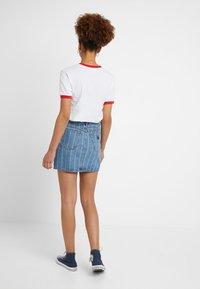 Abrand Jeans - SKIRT - Denim skirt - thunder - 2