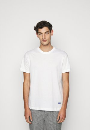 BEAT LOGO - T-shirt basic - white