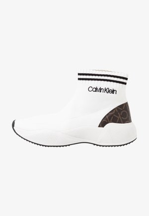 BABELE - High-top trainers - white