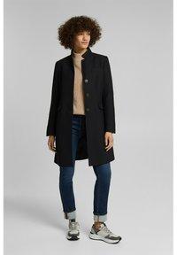 Esprit - Classic coat - black - 1