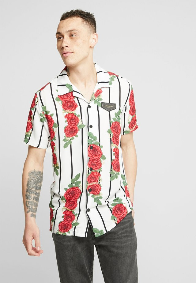 RACER ROSES HAWAII - Camisa - white