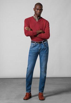 JAYDEN - Slim fit jeans - blue used baffies