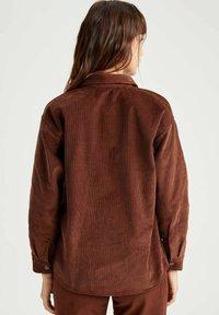 DeFacto - Button-down blouse - brown - 1