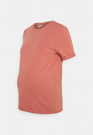 PCMRIA FOLD UP SOLID TEE - Basic T-shirt - canyon rose
