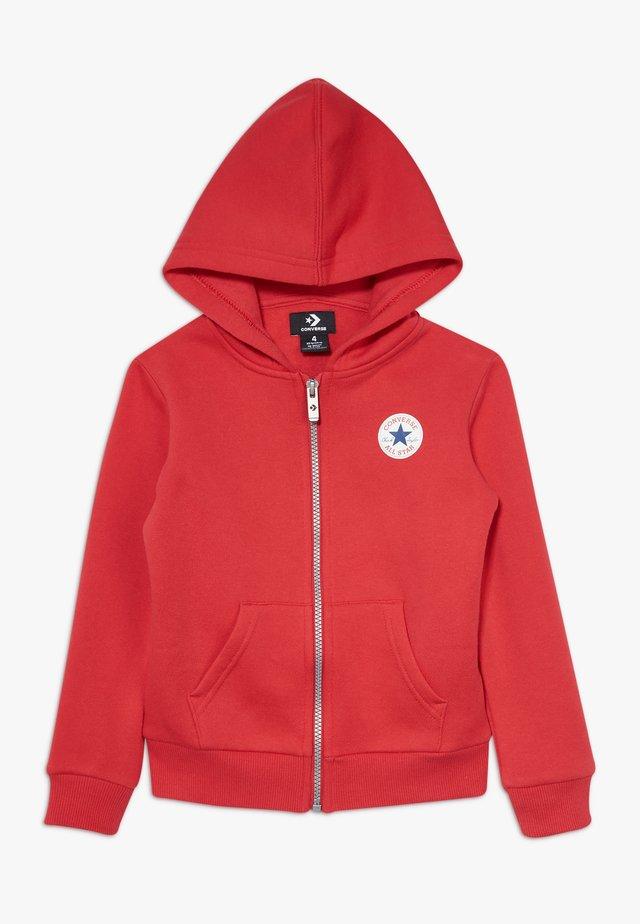 CHUCK PATCH FULL ZIP HOODIE  - Zip-up hoodie - university red