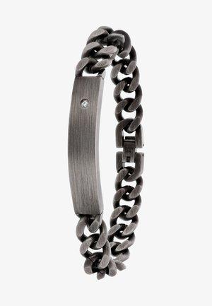 Bracelet - donkergrijs