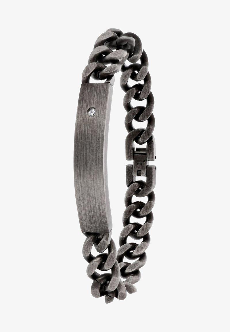 Lucardi - Bracelet - donkergrijs