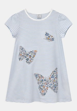 MINI BUTTERFLIES - T-shirt print - light blue