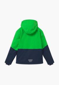 TrollKids - KIDS HALLINGDAL - Snowboard jacket - bright green/navy - 1