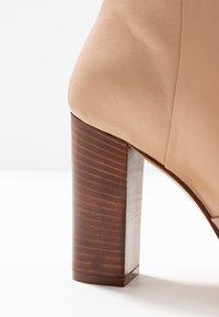 Cosmoparis - SILONI - High heeled boots - nude - 2