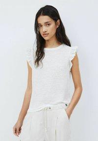 Pepe Jeans - DAISY - Print T-shirt - mousse - 0