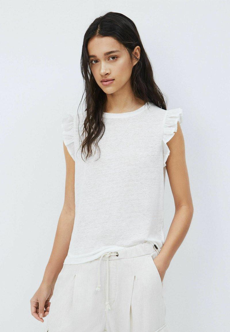 Pepe Jeans - DAISY - Print T-shirt - mousse