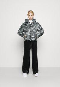 Nike Sportswear - Winter jacket - smoke grey/black/white - 1