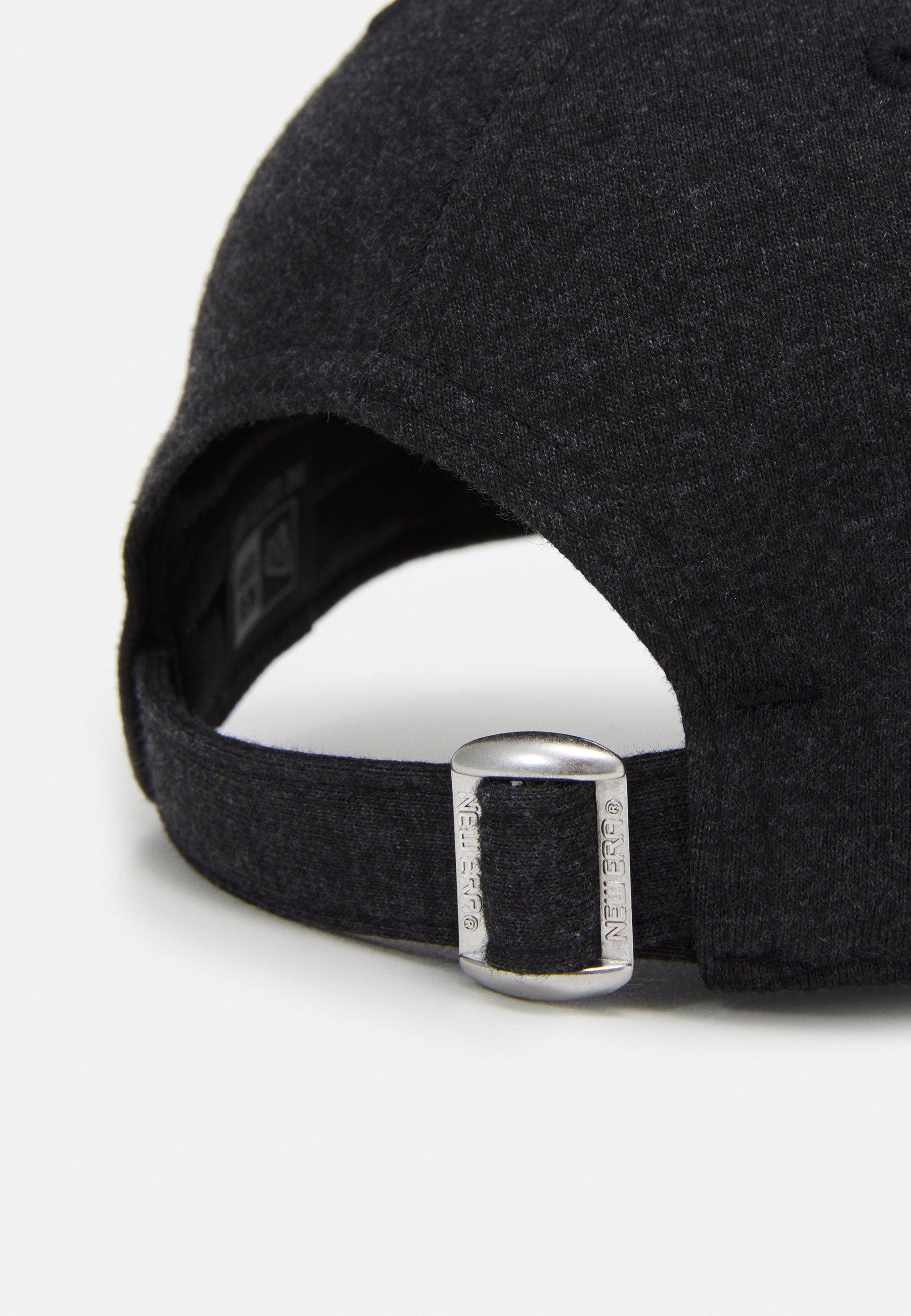 New Era Essential 9forty - Cap Black/schwarz Meliert