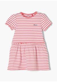 s.Oliver - Jersey dress - light pink stripes - 2
