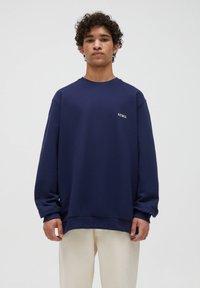 PULL&BEAR - Sweatshirt - dark blue - 0