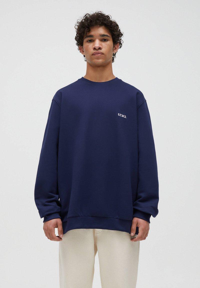 PULL&BEAR - Sweatshirt - dark blue