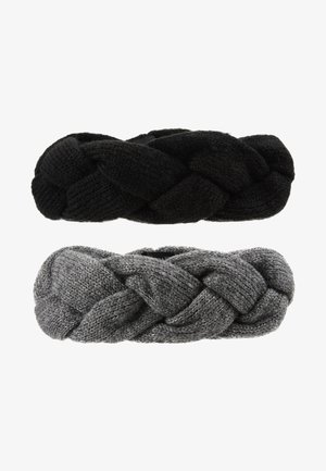 2 PACK - Ear warmers - grey/black