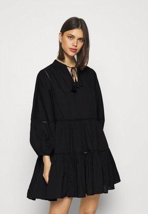 BEACH EDIT BAYSIDE LADDER TRIM DRESS - Akcesoria plażowe - black