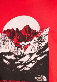 The North Face - NATURAL WONDERS TEE VINTAGE - Print T-shirt - rococco red - 5