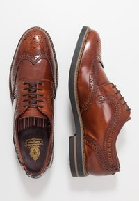 Base London - KENT - Lace-ups - hi shine tan - 1