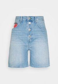 Tommy Jeans - Farkkushortsit - save light blue rigid - 4