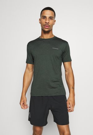 MELL MELANGE TEE - T-Shirt basic - deep forest