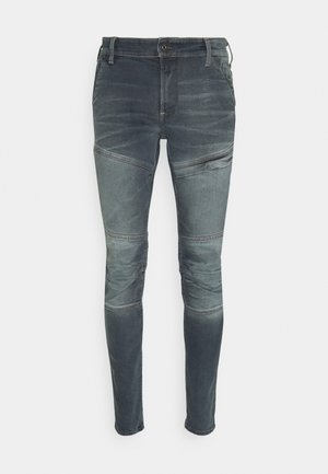 RACKAM 3D SKINNY - Jeans Skinny Fit - worn in smokey night