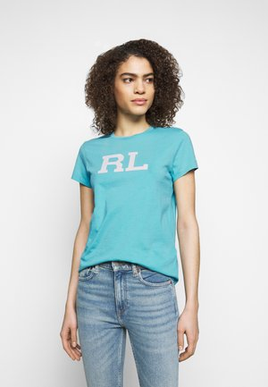 Print T-shirt - spa turquoise