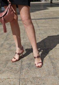 Alberta Ferretti - High heeled sandals - violet - 5