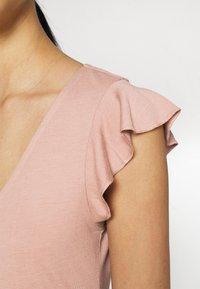 JDY - JDYDITTE V NECK DRESS - Jersey dress - rose - 5